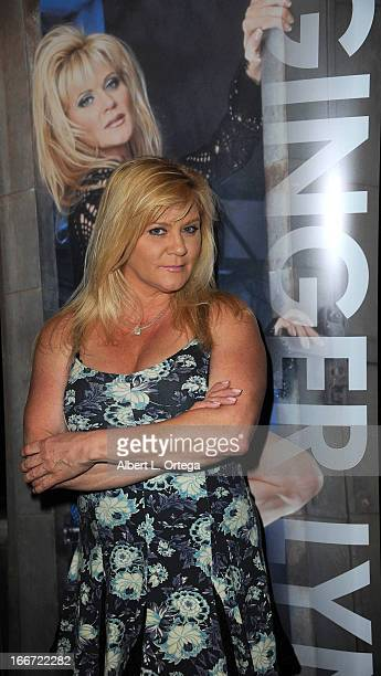 Actress Ginger Lynn attends 2013 Monsterpalooza held at The Burbank Marriott Hotel Convention Center on April 13 2013 in Burbank California