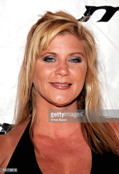 Actress Ginger Lynn attends the 16th Annual Music Video Production Association Awards on May 16, 2007 at The Orpheum Theatre in Los Angeles,...