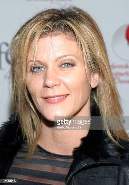 "Actress Ginger Lynn attends ""The Red Party"" on December 13, 2003 in Beverly Hills, California."