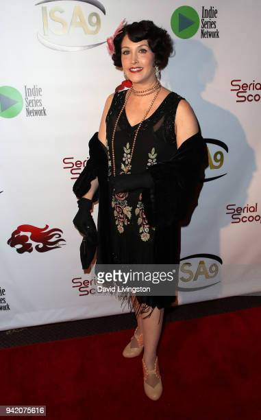Actress Ginger Pauley attends the 9th Annual Indie Series Awards at The Colony Theatre on April 4, 2018 in Burbank, California.