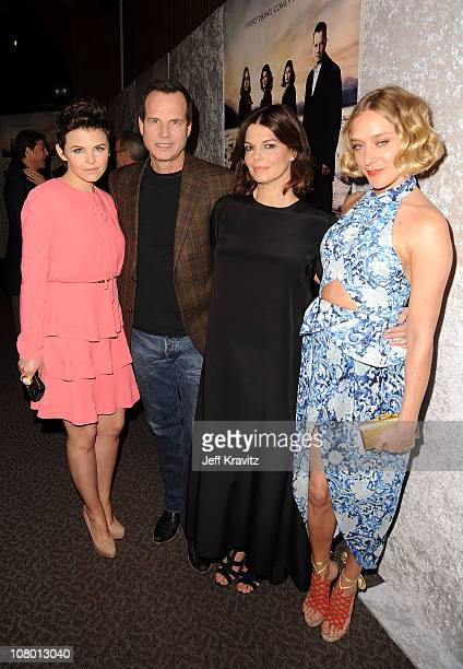 Actress Ginnifer Goodwin actor Bill Paxton actress Jeanne Tripplehorn and actress Chloe Sevigny arrive at HBO's Big Love Season 5 Premiere at...