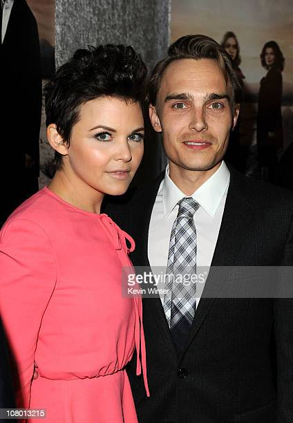 Actress Ginnifer Goodwin and actor Joey Kern arrive at HBO's Big Love Season 5 premiere at Directors Guild of America on January 12 2011 in Los...