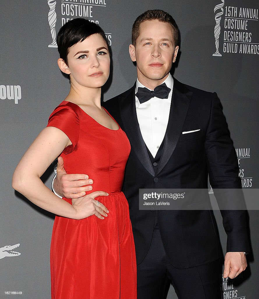 Actress Ginnifer Goodwin and actor Josh Dallas attend the 15th annual Costume Designers Guild Awards at The Beverly Hilton Hotel on February 19, 2013 in Beverly Hills, California.