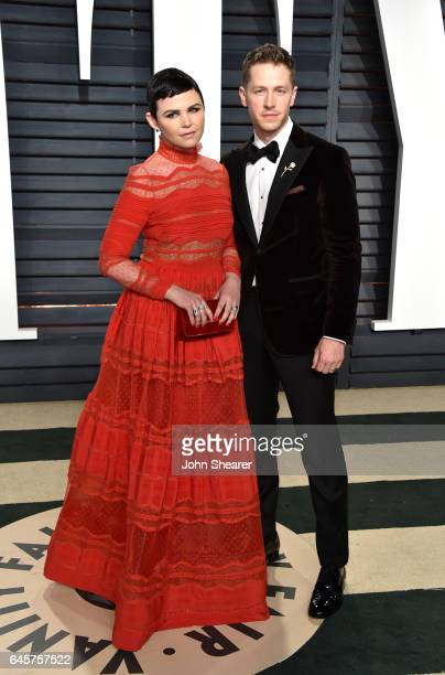 Actress Ginnifer Goodwin and Josh Dallas attend the 2017 Vanity Fair Oscar Party hosted by Graydon Carter at Wallis Annenberg Center for the...