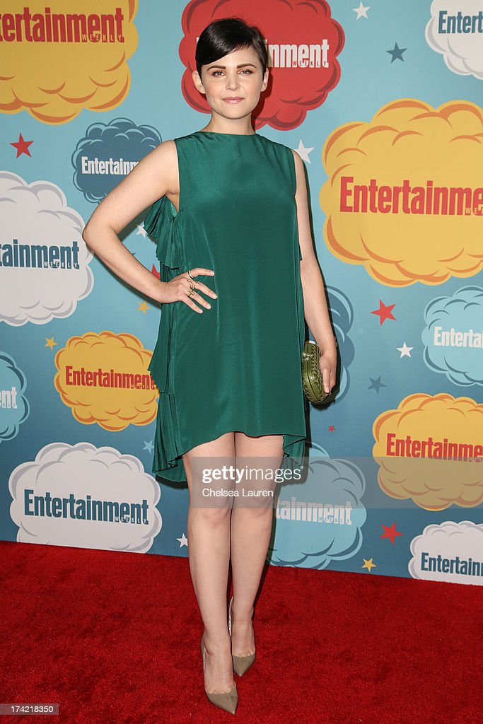 Actress Ginnifer Goodwin arrives at Entertainment Weekly's annual Comic-Con celebration at Float at Hard Rock Hotel San Diego on July 20, 2013 in San Diego, California.