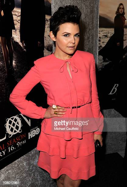"""Actress Ginnifer Goodwin arrives at HBO's """"Big Love"""" Season 5 Premiere held at the Directors Guild Of America on January 12, 2011 in Los Angeles,..."""