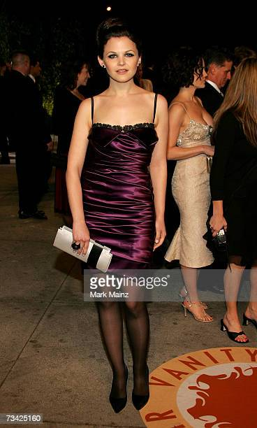 Actress Ginnifer Goodwin arrives at the 2007 Vanity Fair Oscar Party at Mortons on February 25 2007 in West Hollywood California