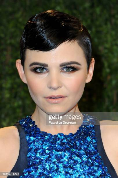 Actress Ginnifer Goodwin arrives at the 2013 Vanity Fair Oscar Party hosted by Graydon Carter at Sunset Tower on February 24 2013 in West Hollywood...