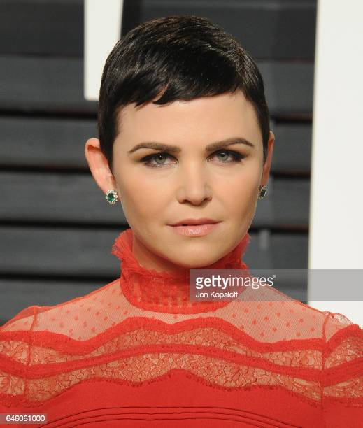 Actress Ginnifer Goodwin arrives at the 2017 Vanity Fair Oscar Party Hosted By Graydon Carter at Wallis Annenberg Center for the Performing Arts on...