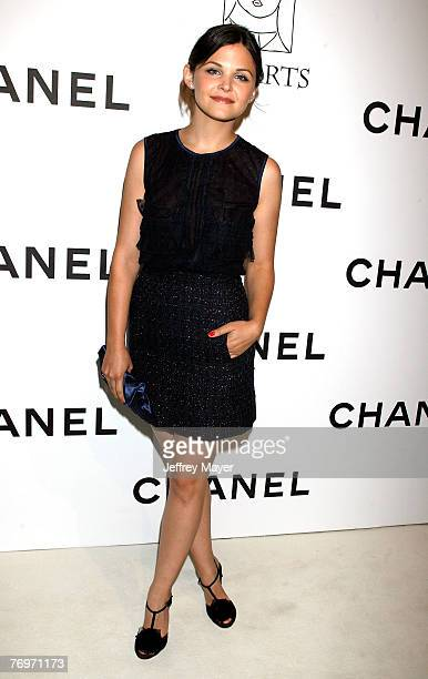 Actress Ginnifer Goodwin arrives at the CHANEL and P.S. Arts Event at the Chanel Beverly Hills Boutique on September 20, 2007 in Beverly Hills,...