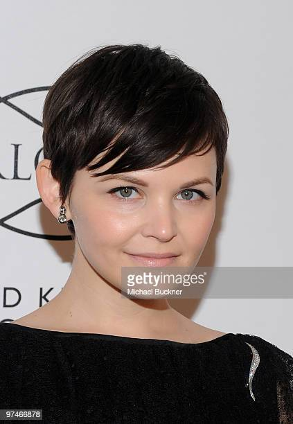 Actress Ginnifer Goodwin arrives at the Everlon Diamond Knot Collection Luncheon celebrating Academy Award Nominee Carey Mulligan at Chateau Marmont...