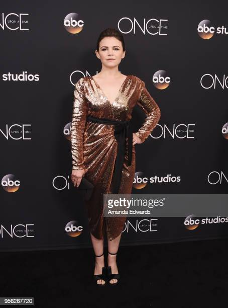 Actress Ginnifer Goodwin arrives at the 'Once Upon A Time' finale screening at The London West Hollywood at Beverly Hills on May 8 2018 in West...