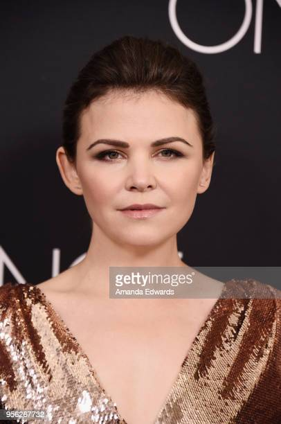 Actress Ginnifer Goodwin arrives at the Once Upon A Time finale screening at The London West Hollywood at Beverly Hills on May 8 2018 in West...