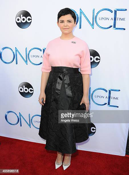 """Actress Ginnifer Goodwin attends ABC's """"Once Upon A Time"""" Season 4 red carpet premiere at the El Capitan Theatre on September 21, 2014 in Hollywood,..."""