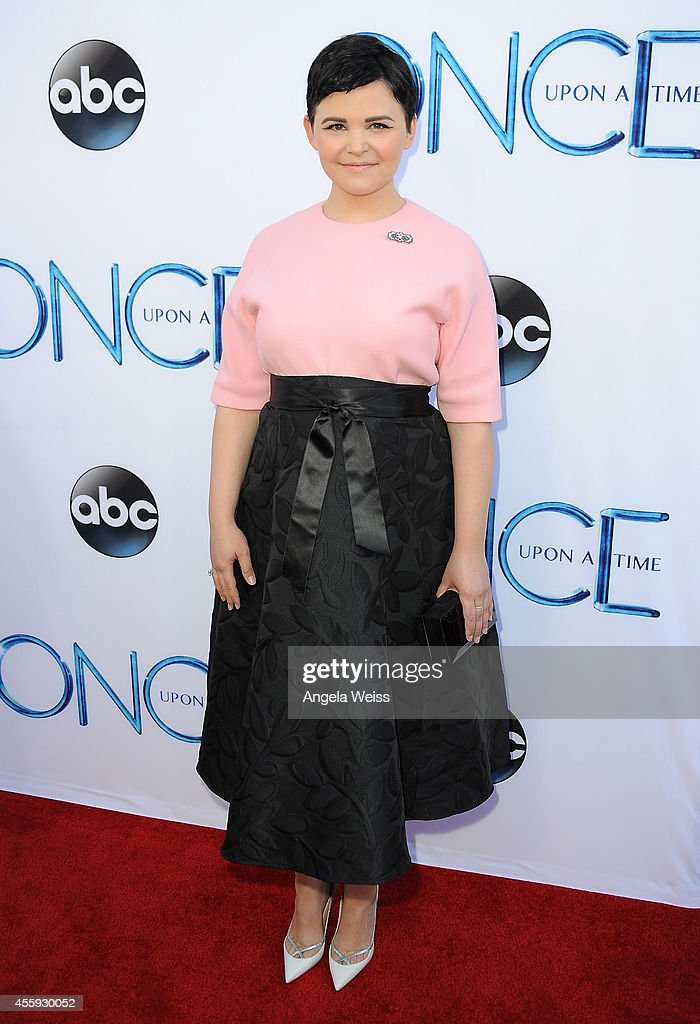 Actress Ginnifer Goodwin attends ABC's 'Once Upon A Time' Season 4 red carpet premiere at the El Capitan Theatre on September 21, 2014 in Hollywood, California.