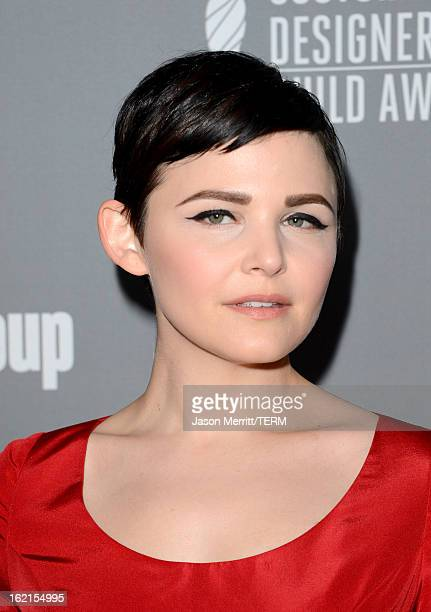 Actress Ginnifer Goodwin attends the 15th Annual Costume Designers Guild Awards with presenting sponsor Lacoste at The Beverly Hilton Hotel on...