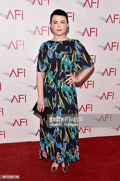 Actress Ginnifer Goodwin attends the 17th annual AFI Awards at Four Seasons Los Angeles at Beverly Hills on January 6 2017 in Los Angeles California