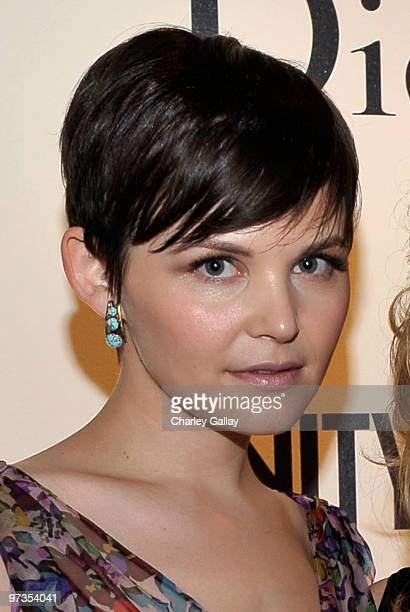 Actress Ginnifer Goodwin attends the Kimberly Brooks' The Stylist Project exhibition hosted by Vanity Fair and Dior held at LeadAPRON on March 1 2010...