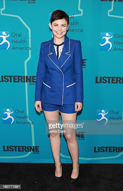 Actress Ginnifer Goodwin attends the Listerine 21 Day Challenge Kickoff at Gabarron Museum NYC on February 5 2013 in New York City