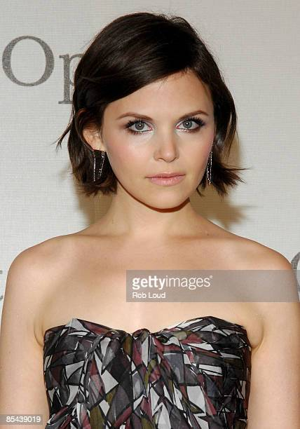 Actress Ginnifer Goodwin attends The Metropolitan Opera's 125th Anniversary Gala at The Metropolitan Opera House Lincoln Center on March 15 2009 in...
