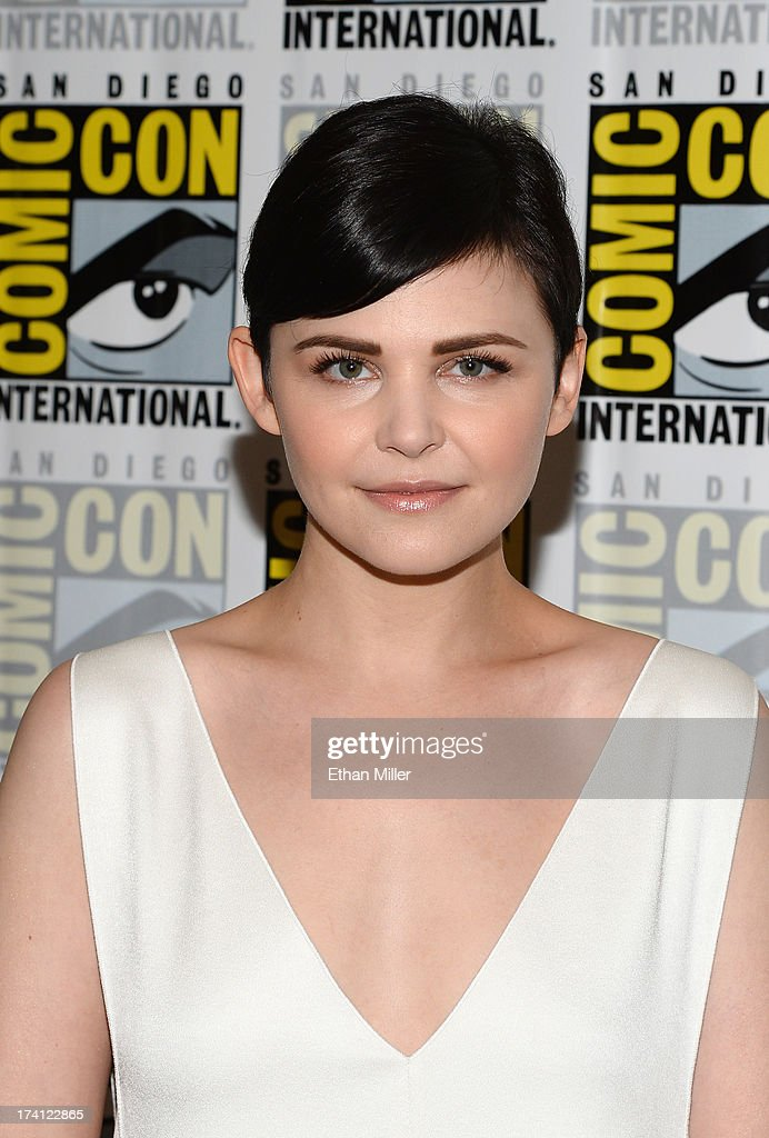 Actress Ginnifer Goodwin attends the 'Once Upon a Time' press line during Comic-Con International 2013 at the Hilton San Diego Bayfront Hotel on July 20, 2013 in San Diego, California.