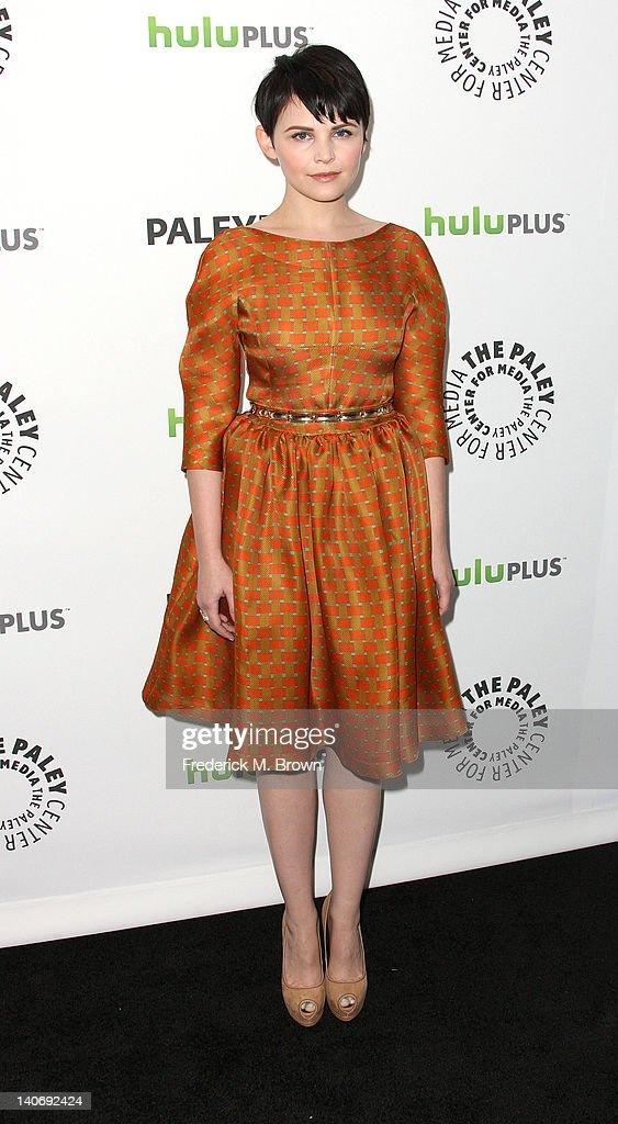 Actress Ginnifer Goodwin attends The Paley Center For Media's PaleyFest 2012 Honoring 'Once Upon A Time' at the Saban Theatre on March 4, 2012 in Beverly Hills, California.