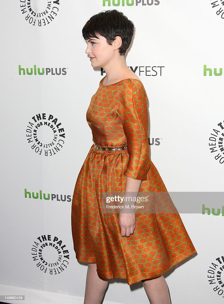 The Paley Center For Media's PaleyFest 2012 Honoring 'Once Upon A Time' : News Photo