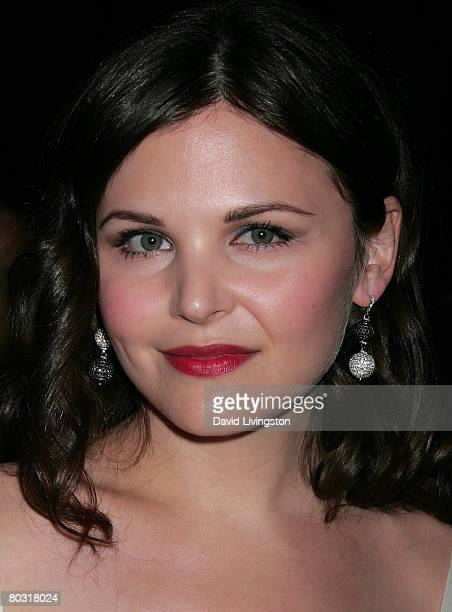 Actress Ginnifer Goodwin attends the Prada Los Angeles screening of 'Trembled Blossoms' at Prada Beverly Hills Epicenter on March 19 2008 in Beverly...