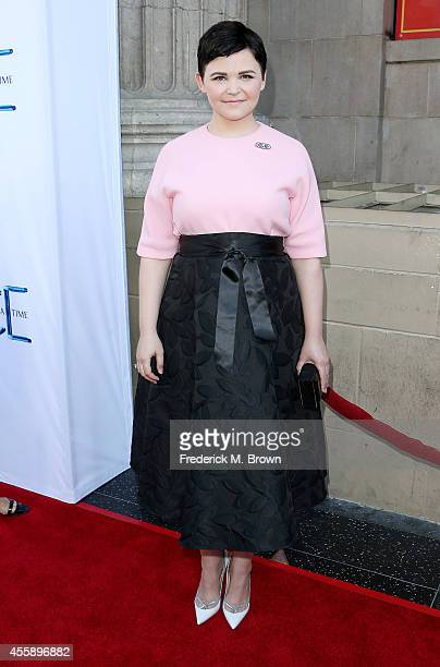 Actress Ginnifer Goodwin attends the Screening of ABC's 'Once Upon A Time' Season 4 at the El Capitan Theatre on September 21 2014 in Hollywood...
