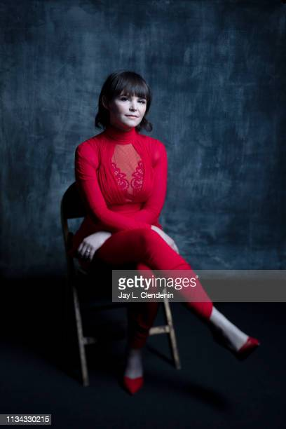 Actress Ginnifer Goodwin from 'The Twilight Zone' is photographed for Los Angeles Times on March 24 2019 during PaleyFest at the Dolby Theatre in...