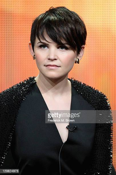Actress Ginnifer Goodwin of the television show 'Once Upon A Time' speaks during the Disney ABC Television Group portion of the 2011 Summer...