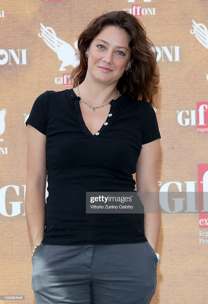 Actress Giovanna Mezzogiorno attends a photocall during Giffoni Experience 2010 on July 25, 2010 in Giffoni Valle Piana, Italy.