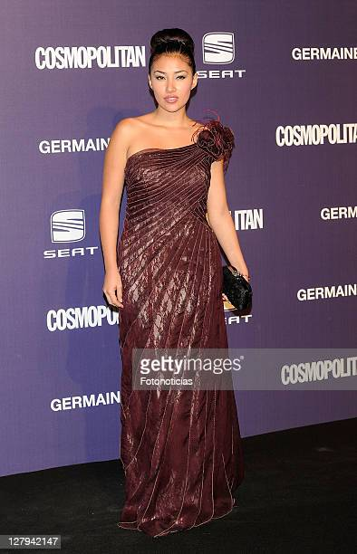 Actress Gisele Calderon attends 'Cosmopolitan Fun Fearless Female' Awards 2011 at the Ritz Hotel on October 3 2011 in Madrid Spain