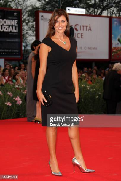 Actress Gisella Marengo attends the Closing Ceremony Red Carpet And Inside at The Sala Grande during the 66th Venice Film Festival on September 12...
