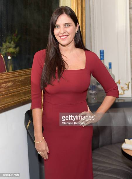 Actress Gisella Marengo attends the Septembers of Shiraz TIFF Party Hosted By GREY GOOSE Vodka at Byblos on September 15 2015 in Toronto Canada