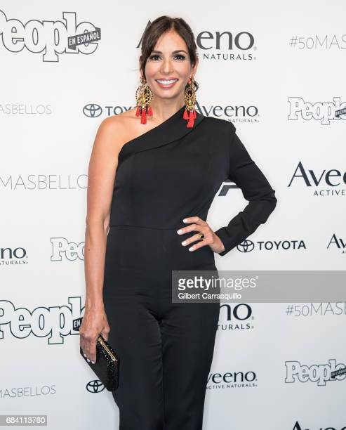 Actress Giselle Blondet arrives at People en Espanol's 50 Most Beautiful Gala 2017 at Espace on May 16 2017 in New York City