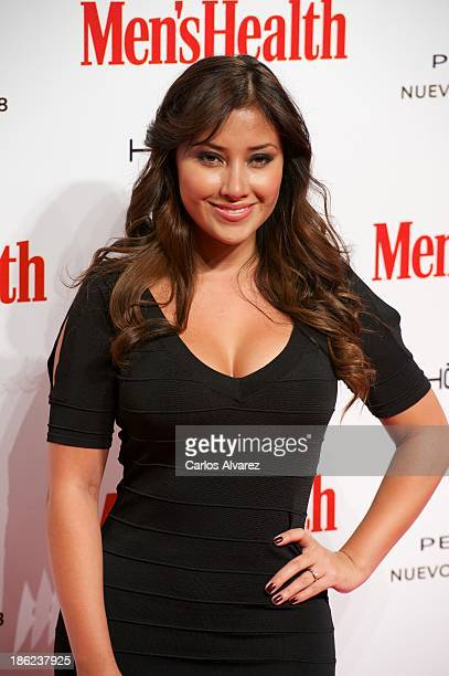 Actress Giselle Calderon attends Men's Health Awards 2013 at the Canal Theater on October 29 2013 in Madrid Spain