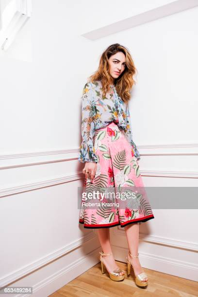 Actress Giulia Andò is photographed for Self Assignment on April 6, 2016 in Milan, Italy.