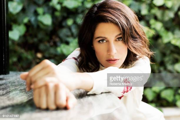Actress Giulia Bevilacqua is photographed for Self Assignment on June 2017 in Rome Italy
