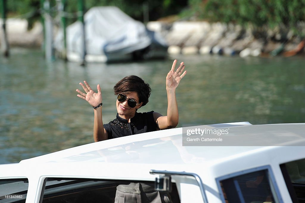 Actress Giulia Bevilacqua is seen at the 69th Venice Film Festival on September 6, 2012 in Venice, Italy.