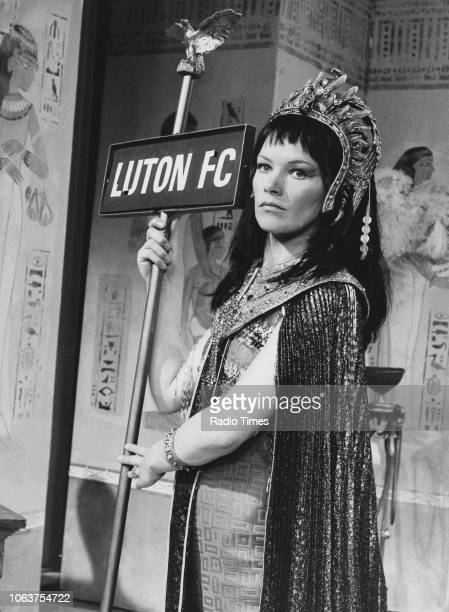 Actress Glenda Jackson dressed as Cleopatra during a sketch on 'The Morecambe and Wise Show' May 11th 1971