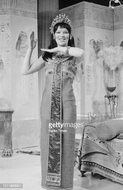 Actress Glenda Jackson in a sketch for the BBC television series 'The Morecambe and Wise Show', May 11th 1971.