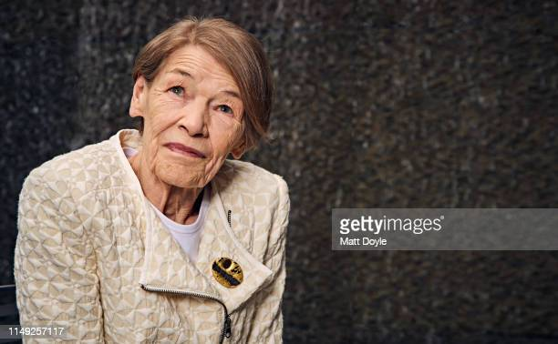 Actress Glenda Jackson is photographed for Back Stage on April 22 2019 in New York City PUBLISHED IMAGE