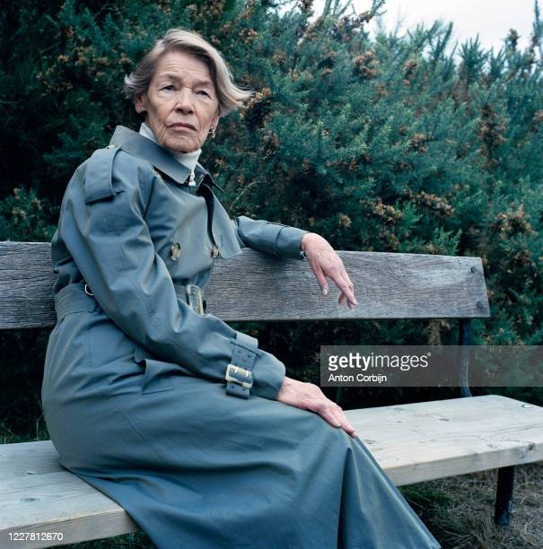 Actress Glenda Jackson poses for a portrait on April 27, 2017 in London, England.