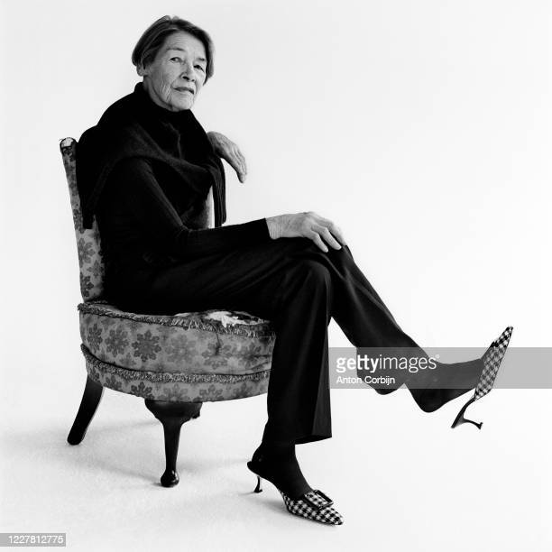 Actress Glenda Jackson poses for a portrait on April 27 2017 in London England
