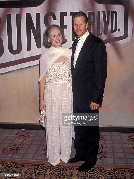 Actress Glenn Close and actor Alan Campbell attend the 'A Night to Fight Diabetes' Benefit Preview Performance of 'Sunset Blvd' After Party on...