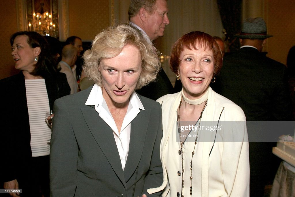 Actress Glenn Close and actress Patricia Elliot speak at The Tony Awards Honor Presenters And Nominees at the Waldorf Astoria on June 10, 2006 in New York.