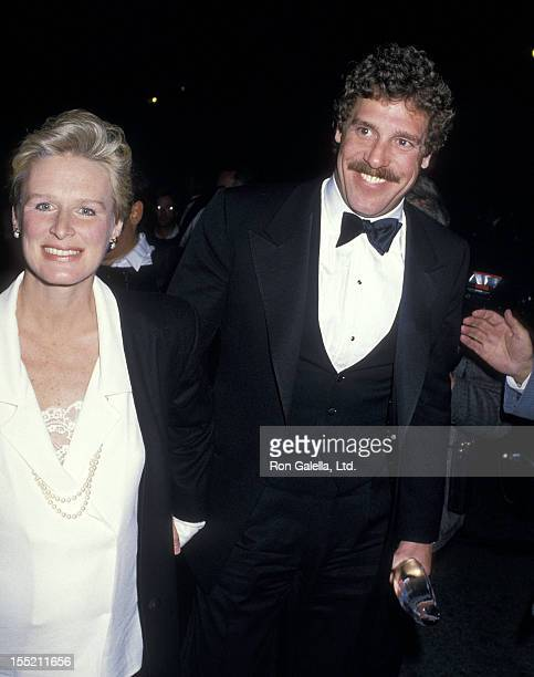 Actress Glenn Close and boyfriend John Starke attend the 14th Annual People's Choice Awards on March 13 1988 at 20th Century Fox Studios in Century...