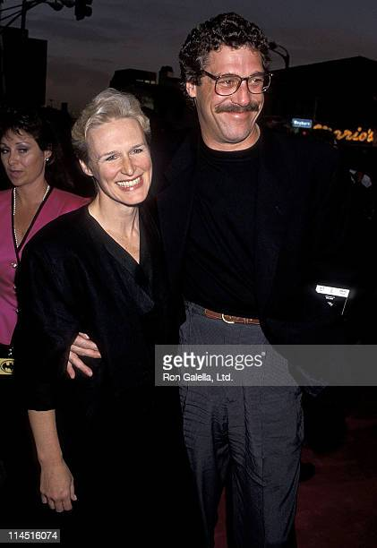 Actress Glenn Close and boyfriend John Starke attend the Batman Westwood Premiere on June 19 1989 at Mann Bruin Theatre in Westwood California