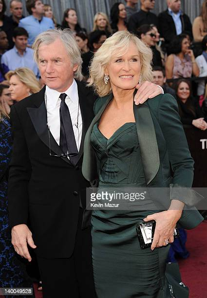 Actress Glenn Close and husband John H Starke arrive at the 84th Annual Academy Awards held at the Hollywood Highland Center on February 26 2012 in...